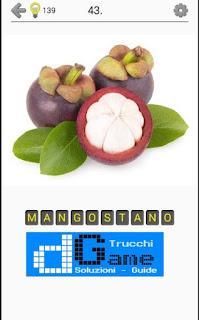 Soluzioni Frutti, verdure e noce livello 43