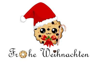 In Diesem Sinne Frohe Weihnachten.Nusscookies Bücherliebe Kaffeeklatsch Frohe Weihnachten 2018
