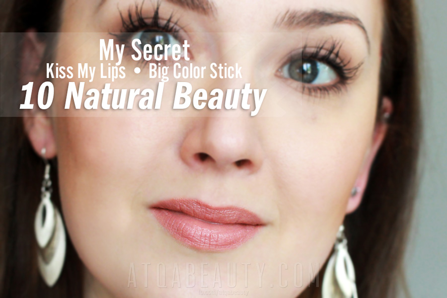 My Secret Kiss My Lips Big Color Stick • 10 Natural Beauty