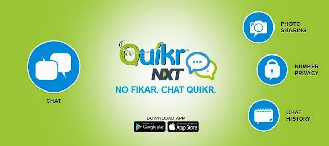 Quikr Launched Chat Application