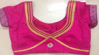 Top 100 Patch Work Blouse Designs Vol 2