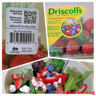 Learn how Driscoll's uses QR Codes to ask consumers to join their Panel