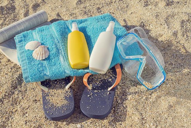 Kit de supravietuire la plaja