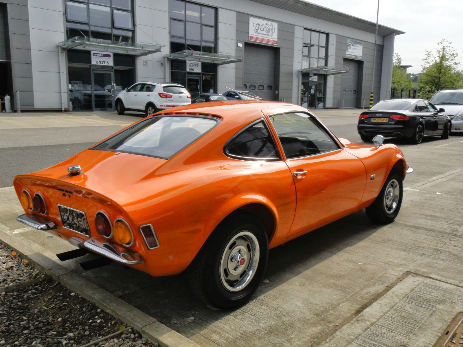 1970 Opel Gt Fully Restored Auto Restorationice