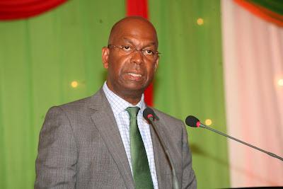 Bob Collymore of Safaricom. PHOTO | Coutesy