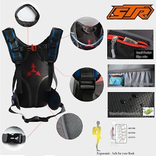 Tas Sepeda STR back side