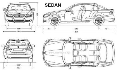 kich thuoc xe bmw 3 series sedan