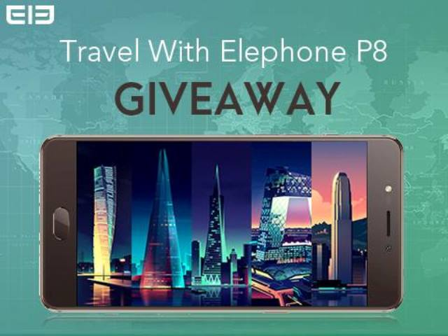 Shoot and share to win ElephoneP8 for free