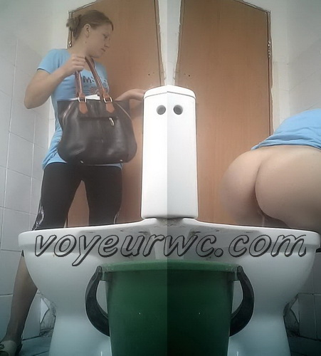 VB Piss 2183-2197 (Women pissing in the toilet of a clinic)