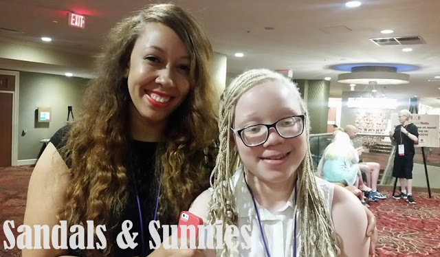 Journey to NOAH CON 2016 : Meeting Tweens with albinism