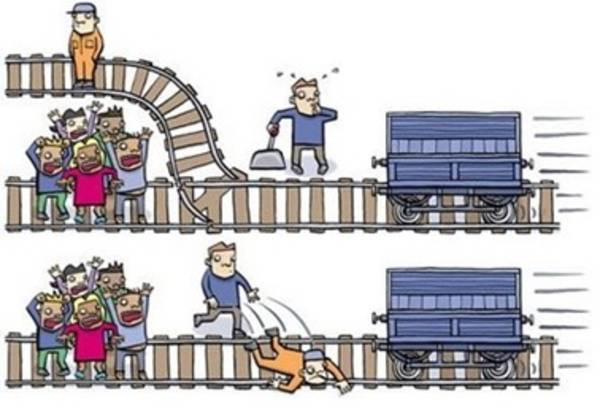El dilema del tranvía o matar a uno para salvar a cinco
