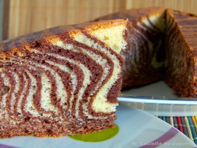 Bizcocho Cebra (Zebra Cake)
