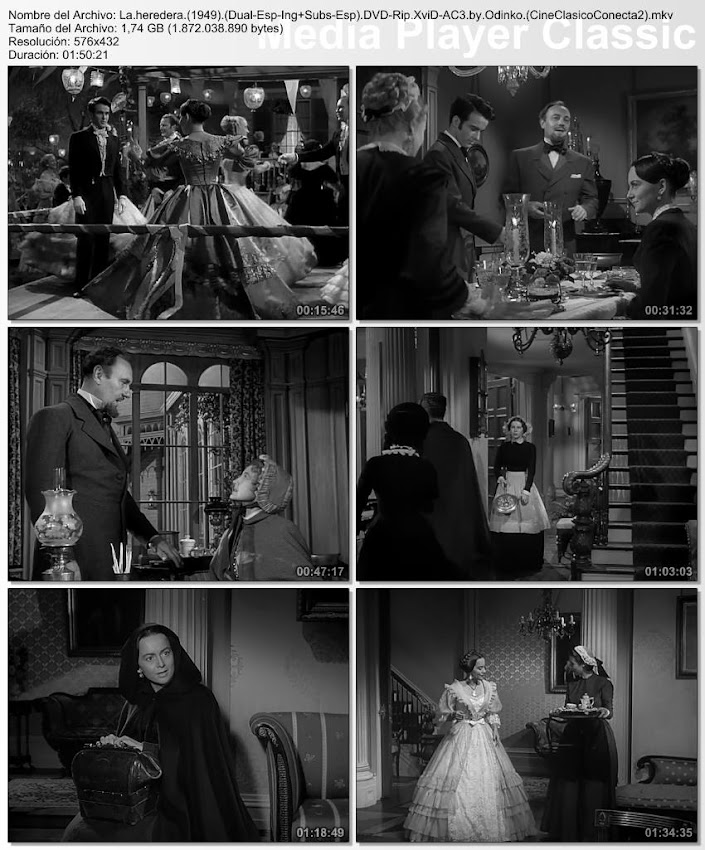 Fotografías de la película: The Heiress | 1949 | La heredera