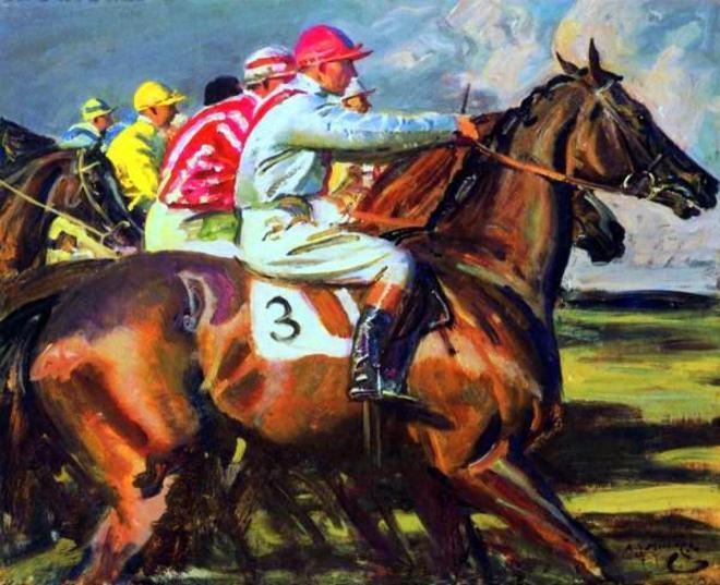 The Apprentice Jockey Sir Alfred James Munnings