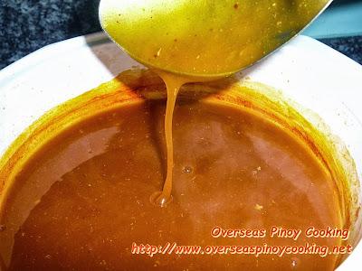 Pancit Malabon - Sauce