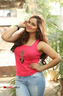 Tollywood Actress Ashwini Latest Stills in Ripped Jeans  0014.JPG