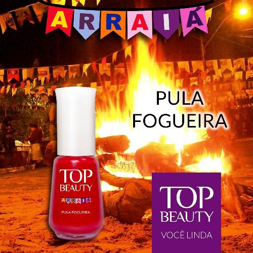 Esmalte Top Beauty :: Pula Fogueira - Resenha