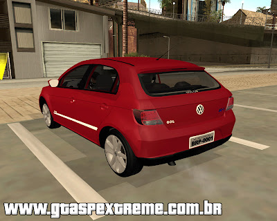 Vw Gol Power 1.6 2012 para grand theft auto