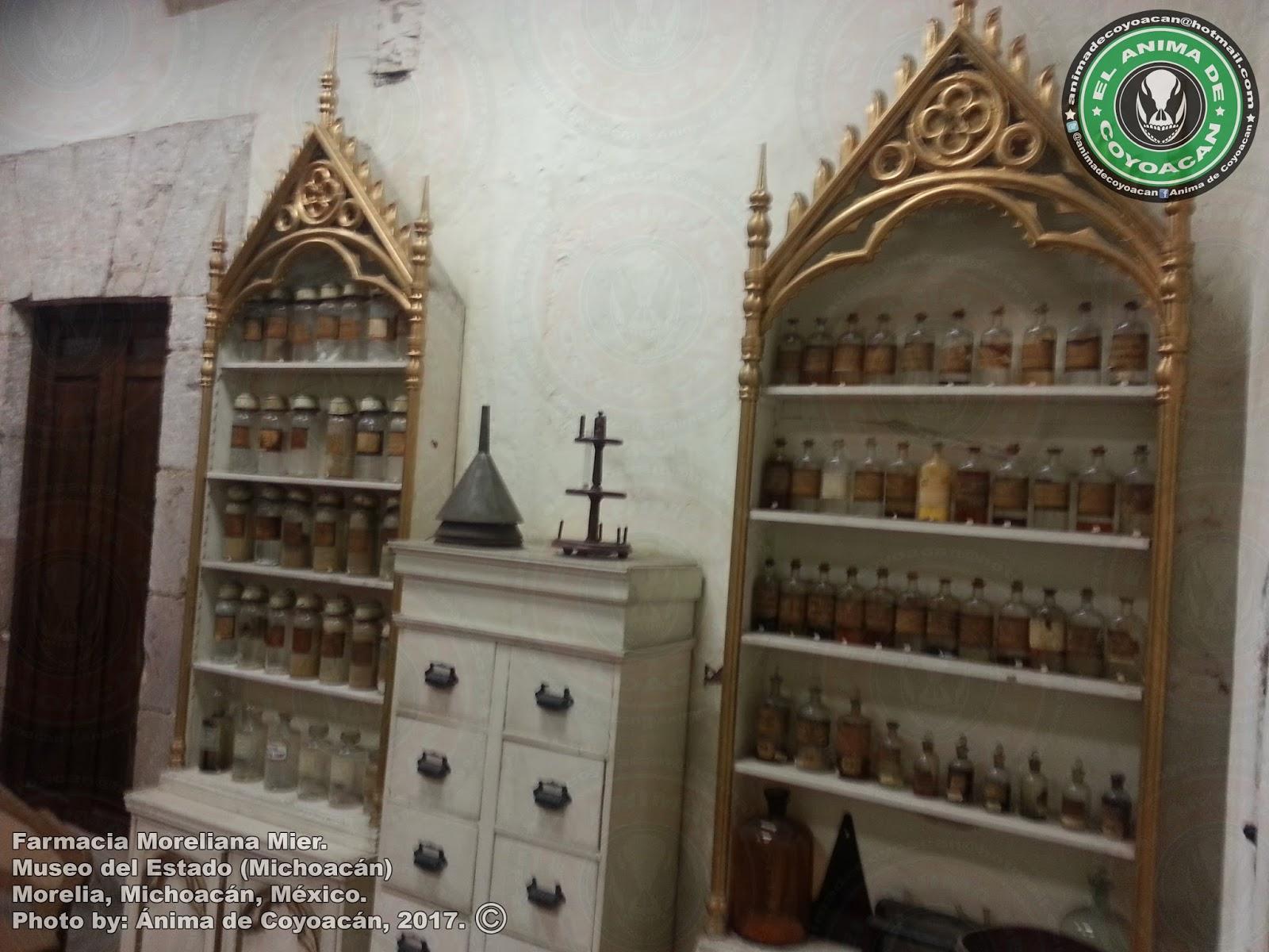 El Blog Del Anima De Coyoacan Antigua Farmacia Mier Museo Del  # Muebles Coyoacan