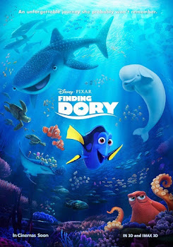 Poster Of Finding Dory In Dual Audio Hindi English 300MB Compressed Small Size Pc Movie Free Download Only At worldfree4u.com