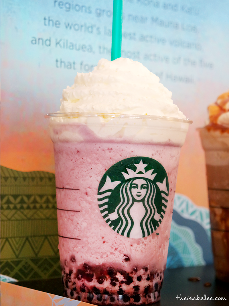 Starbucks Mixed Berry Frappuccino Blended Beverage with Pomegranate Pearls