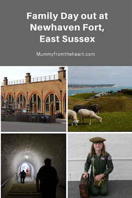 New Haven Fort, East Sussex is a fun family day out. There are lots of interactive exhibits to explore