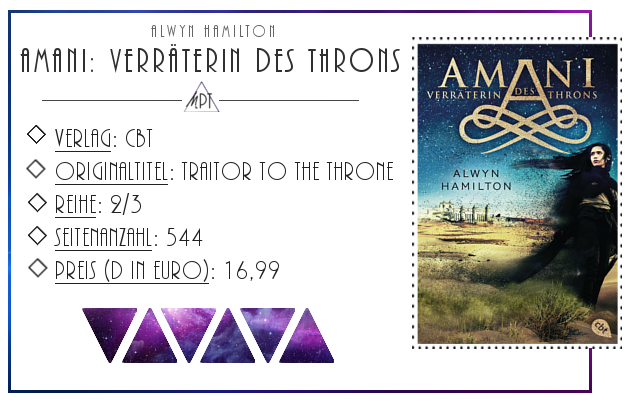 [Rezension] Amani: Verräterin des Throns - Alwyn Hamilton