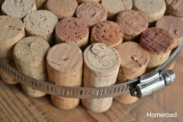 Four Projects Using Wine Corks