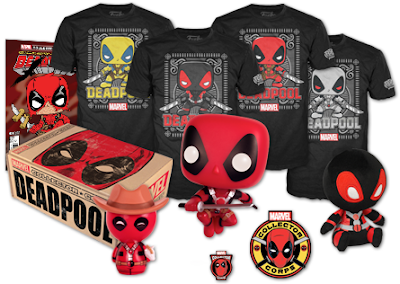 Marvel Collector Corps Deadpool Themed February 2016 Subscription Box