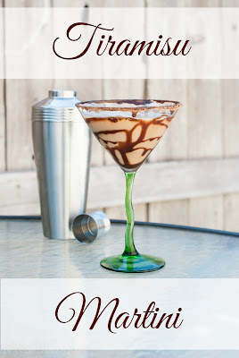 Tiramisu Martini, shared by 365 Days of Cocktails at The Chicken Chick's Clever Chicks Blog Hop