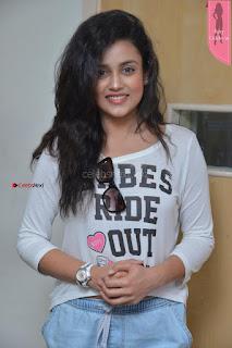 Cute Actress Misti Chakravarthi at Babu Baga Busy Team at Radio City ~  Exclusive 8th April 2017 006.JPG