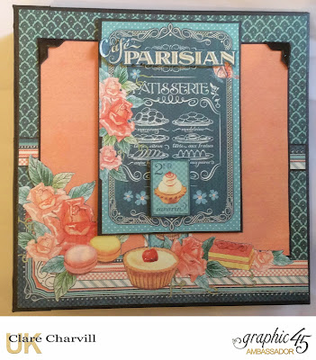 Cafe Parisian Album Clare Charvill Graphic 45
