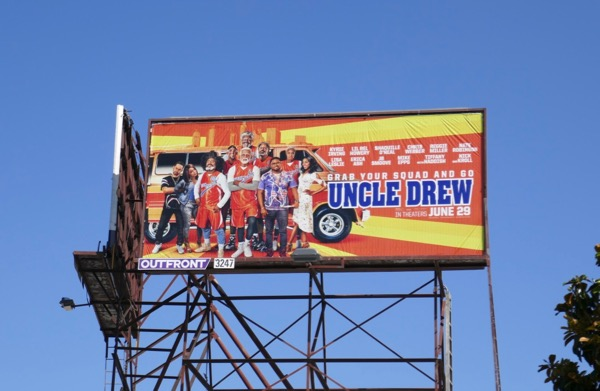 Uncle Drew movie billboard