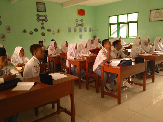 Kegiatan Belajar Mengajar Madrasah Aliyah Nurul Huda Margamulya