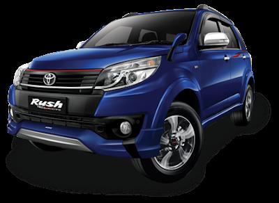 Mobil Toyota New Rush 7 TRD Sportivo Ultimo