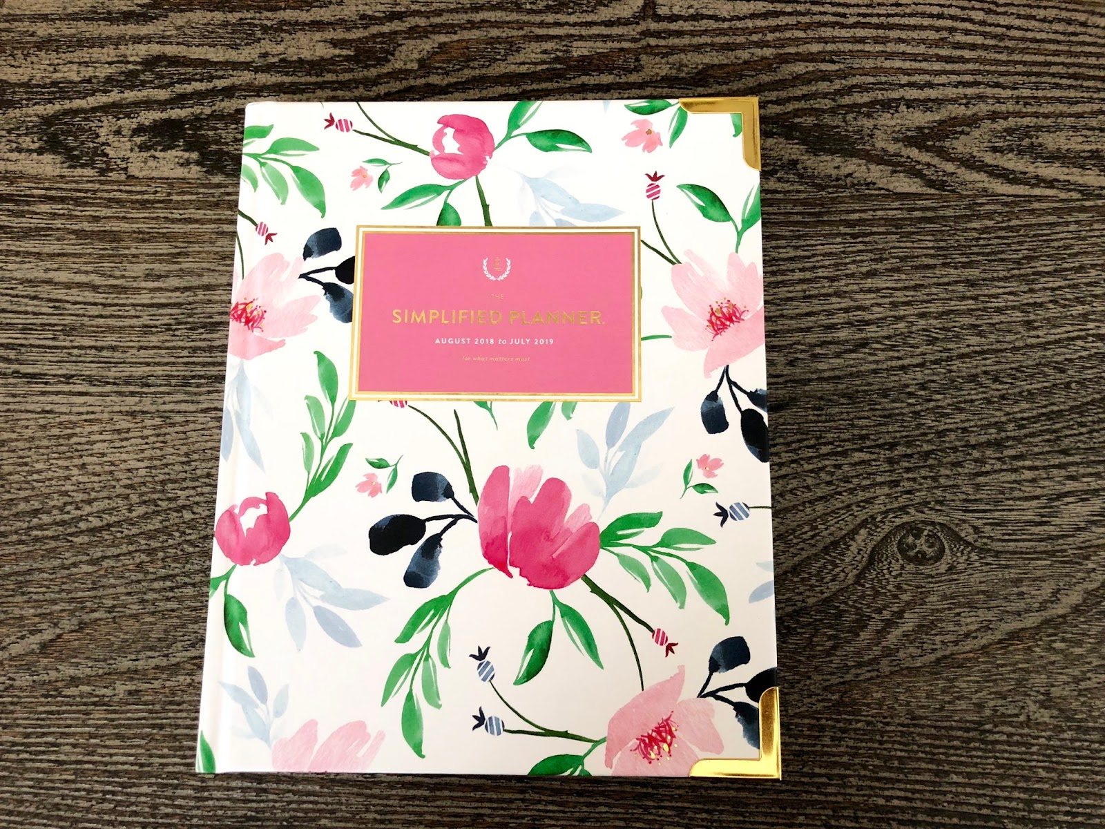picture relating to Emily Ley Planners named Emily Ley Simplified Planner Evaluation and Giveaway [ Not