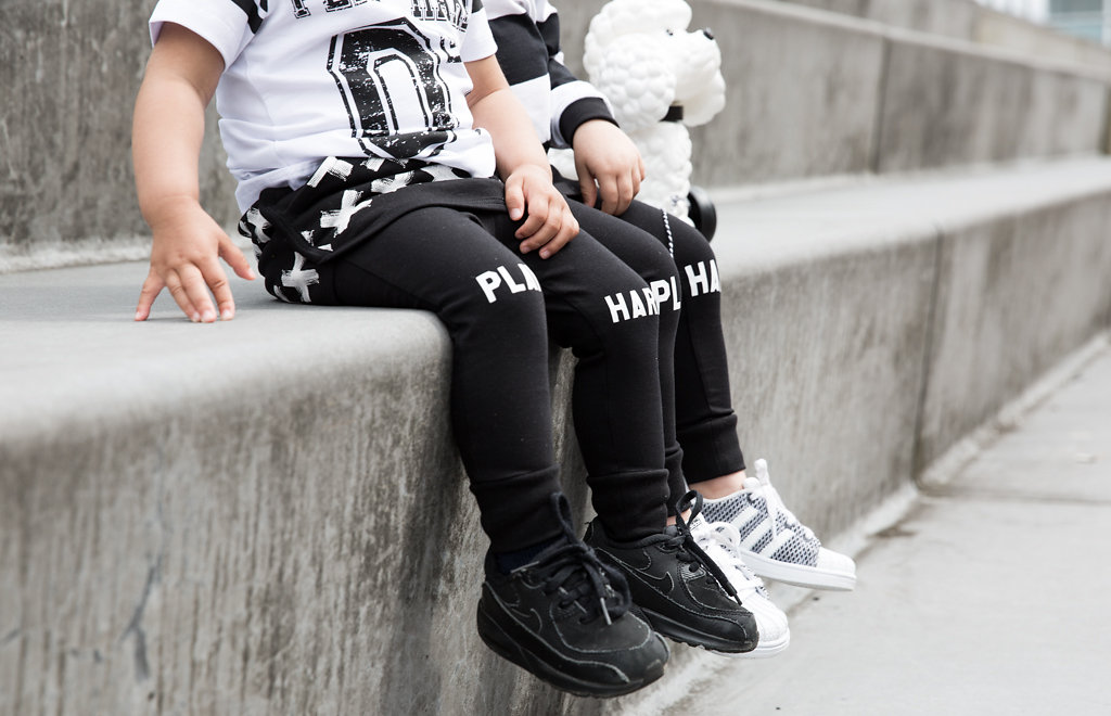 Lucky No 7 Autumn 2016 kidswear collection - Play Hard! leggings
