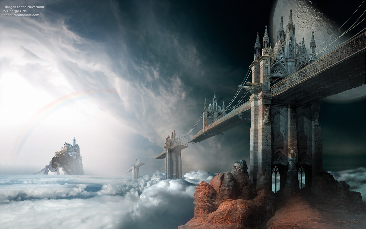 12-Bridges-to-the-Neverland-George-Grie-Travels-Through-Neo-Surrealist-Art-Land-www-designstack-co