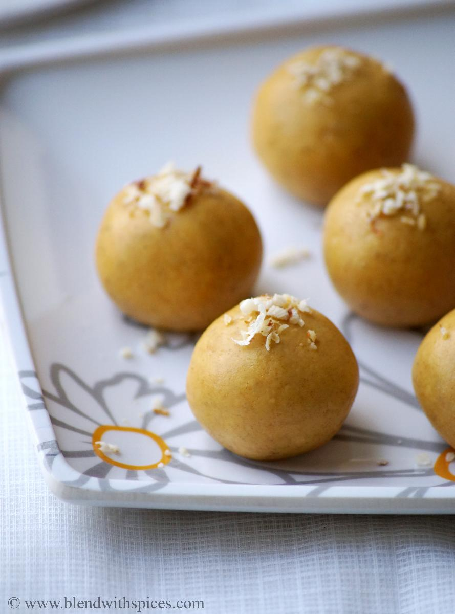 indian microwave sweets, easy diwali recipes, how to make microwave besan laddu