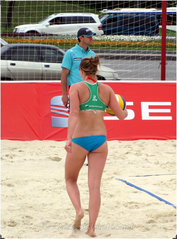 Beach Volleyball Player # 2