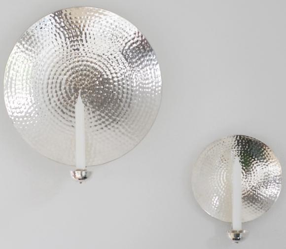 Lampetter i silver från Micci´s House hos Longcoast Living.