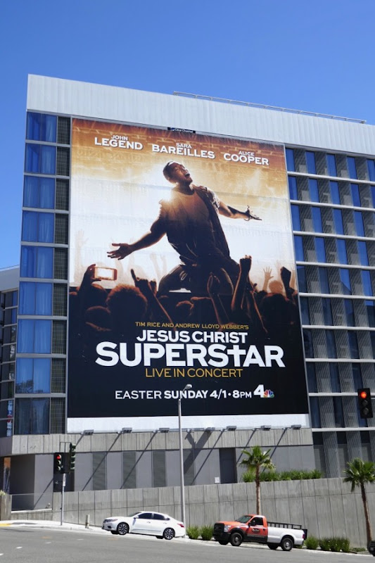 Jesus Christ Superstar Live in concert billboard