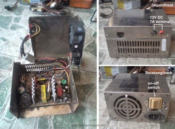 12V from old PC power supply