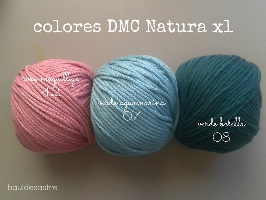 algodón DMC Natura XL para #retofinde