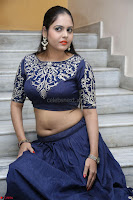 Ruchi Pandey in Blue Embrodiery Choli ghagra at Idem Deyyam music launch ~ Celebrities Exclusive Galleries 049.JPG