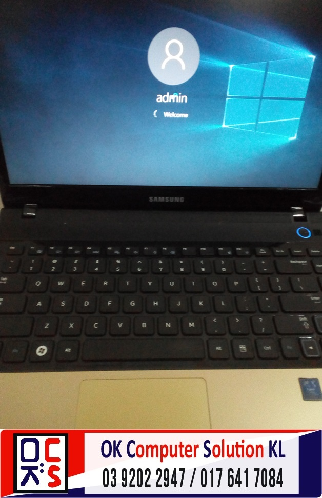 [SOLVED] FORMAT SAMSUNG 305E | REPAIR LAPTOP CHERAS 6