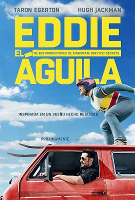 Póster en español de Eddie el Águila