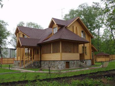 wood style house 09
