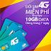 Khuyến mãi 10GB Data khi đổi sim 4G Viettel từ ngày 8/3/2017.