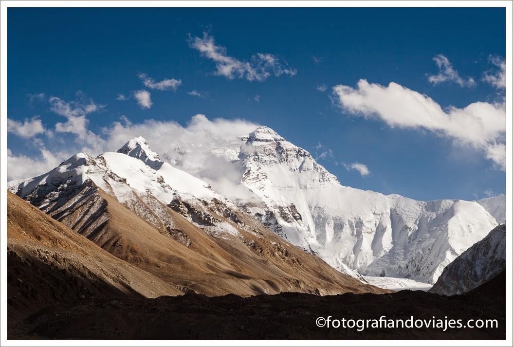 Monte Everest en Tibet